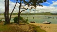 Pauanui;Coromandel;sandy_beaches;bachs;holiday_homes;blue_sky;blue_sea;bush;nati