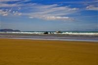 Hawkes_Bay_Coast;Porangahau;bush;native_forrest;golden_sands;bluffs;River;cliffs