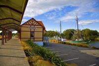 Kaiapoi;Canterbury;Kaiapoi_River;boating;golden_sands;Pacific_Ocean;Waimakariri_
