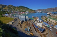 Lyttelton;Canterbury;Lyttelton_Harbour;Banks_Peninsula;Diamond_Harbour;Dry_dock;
