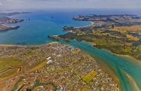 Aerial;Whitianga;Mercury_Bay;Coromandel;sandy_beaches;bachs;holiday_homes;blue_s