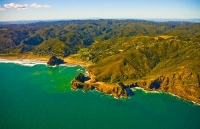 Aerial;Auckland_West_Coast_Beaches;Piha;Piha_beachfishing;angling;boating;speed_