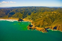 Aerial;Auckland_West_Coast_Beaches;Piha;Piha_beach;fishing;angling;boating;speed