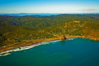 Aerial;Auckland_West_Coast_Beaches;Piha_beach;Piha;fishing;angling;boating;speed