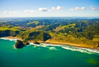 Aerial;Auckland_West_Coast_Beaches;Bethells_beach;fishing;angling;boating;speed_