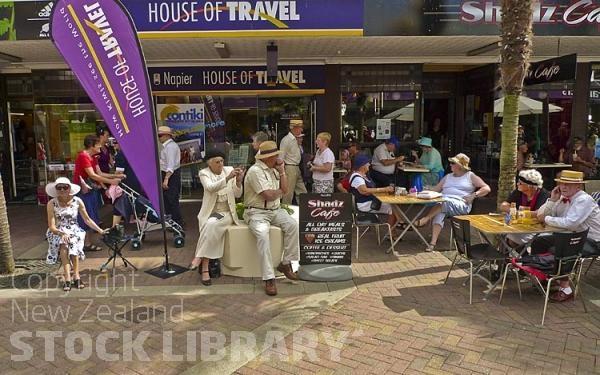Napier;Hawkes Bay;Gardens;Art Deco;sculptures;promenade;Art Deco buildings;art deco festival;costumes;vintage vehicles;vintage cars