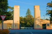 New_Plymouth;Taranaki;Pukekura_Park_Gates;Pukekura_Park;Gates;late_light;Pukekur