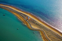Aerial;Nelson;Tasman_Bay;Boulder_Bank;sandy_beaches;rocky_shorelines;beach;beach