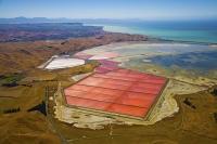 Aerial;Lake_Grassmere;Marlborough;salt_works;evaporation_ponds;salt_production