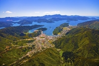 Aerial;Picton;Waikawa;Marlborough_Sounds;Marlborough;bush;native_forrest;hills;m