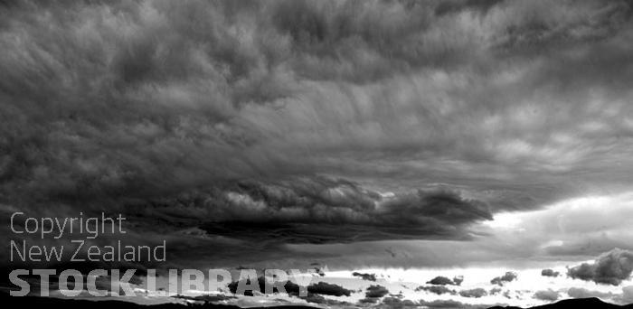 Angry sky Monochrome