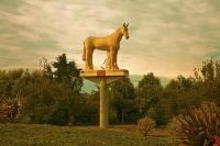 Aerial;Timaru;South_Canterbury;Canterbury;Phar_Lap;old_statue;Phar_Lap;old_statu