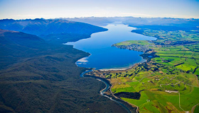 Lake Te Anau Images