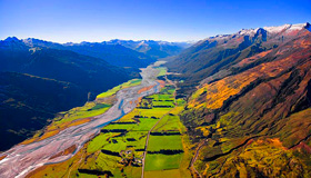 Makarora River Images