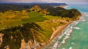 Opotiki to East Cape Images