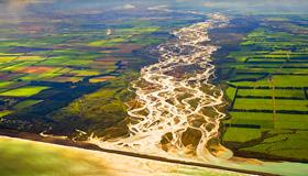 Rakaia River Images